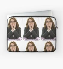 Tina Fey - What Would Tina Fey Do? Laptop Sleeve