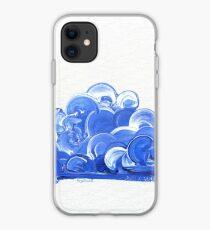 Blue Clouds iPhone Case