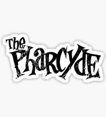 The Pharycide Black Sticker