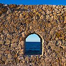 Window to the Aegean Sea by Rae Tucker