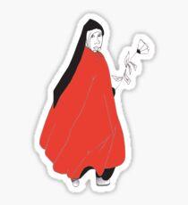 red nun Sticker