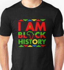 I am Black History Month Black Pride Unisex T-Shirt