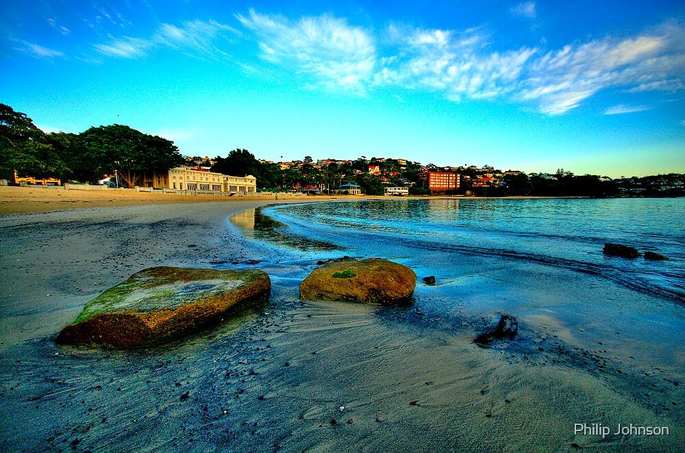 Blue Dawn - Balmoral Beach - The HDR Experience by Philip Johnson