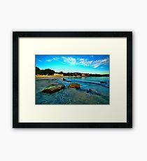 Blue Dawn - Balmoral Beach - The HDR Experience Framed Print