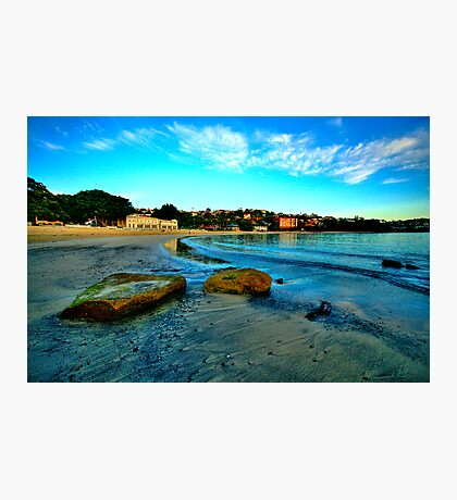 Blue Dawn - Balmoral Beach - The HDR Experience Photographic Print