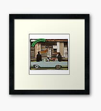 The Zooman Hotel Framed Print