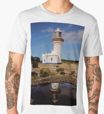 Lighthouse in the Southcoast Men's Premium T-Shirt