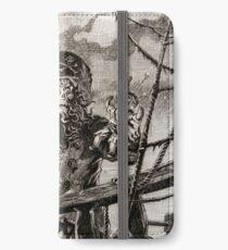 LeChuck's Revenge Engraving iPhone Wallet/Case/Skin