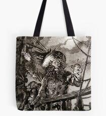 LeChuck's Revenge Engraving Tote Bag