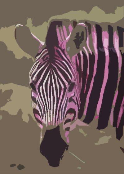 My lovely Zebra by Dea B