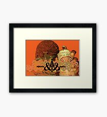 AREOSOL EIGHTS Framed Print