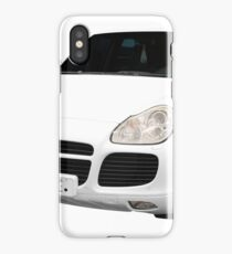 Front view of 4x4 suv isolated iPhone Case/Skin