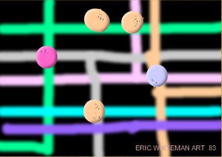 (I AM LOST ) ERIC WHITEMAN  ART  by eric  whiteman