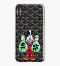 Black Goyard Money iPhone Case/Skin