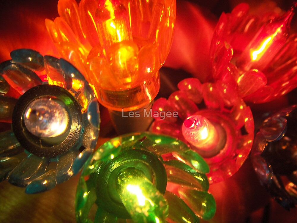 Vintage Lights by Les Magee