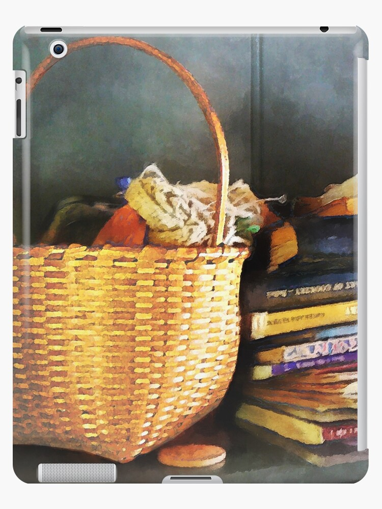 Americana - Books Basket and Quills by Susan Savad