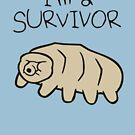 «Soy un superviviente (tardígrado)» de jezkemp