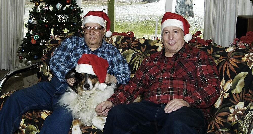 Merry Christmas from Ed, Dennis and Buddy Henzi by Edward Henzi