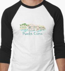 Punta Cana Panorama Baseballshirt mit 3/4-Arm