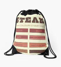 Steak Colour Chart Drawstring Bag