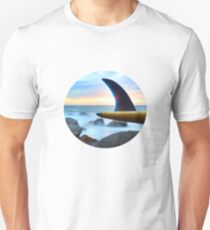 Single Fin colour Unisex T-Shirt