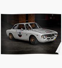 Alfa Romeo Giulia GTA Poster