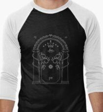 Lord of the Rings - Gates of Moria Ithilden Door Men's Baseball ¾ T-Shirt
