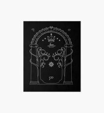 Lord of the Rings - Gates of Moria Ithilden Door Art Board