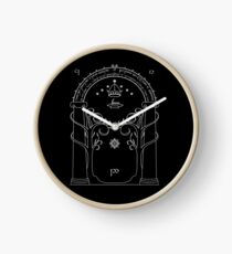 Lord of the Rings - Gates of Moria Ithilden Door Clock