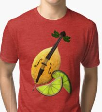 LimonCELLO wordplay artwork Tri-blend T-Shirt