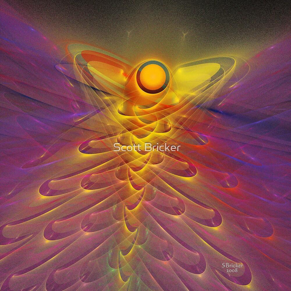 'Angel in the Flame (Angel)' by Scott Bricker