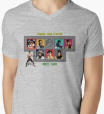 Mortal Kombat – Choose Johnny Cage Men's V-Neck T-Shirt