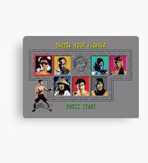 Mortal Kombat – Choose Johnny Cage Canvas Print
