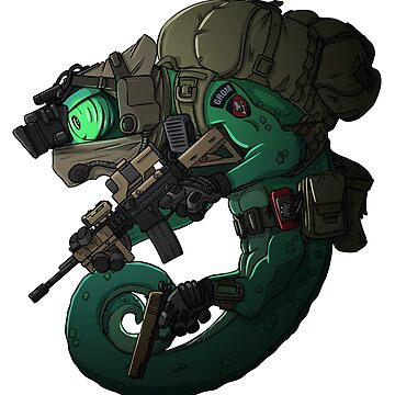 Tactical Chameleon - Polish Grom - with Guns by TacOpsGear