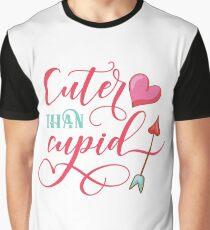 Cuter Than Cupid Graphic T-Shirt