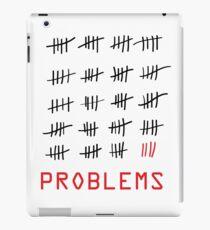 99 Problems - White iPad Case/Skin