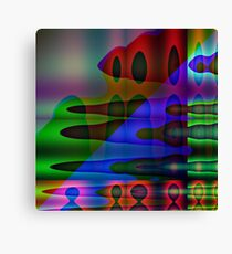 Confusing Thought Canvas Print