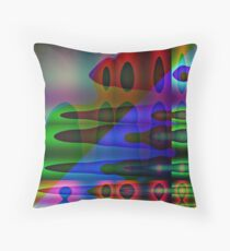 Confusing Thought Throw Pillow