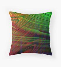 Linear Mirage Throw Pillow