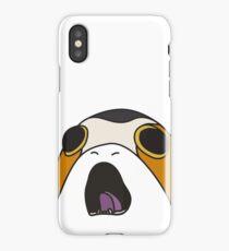 Screaming Porg iPhone Case/Skin