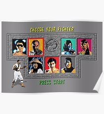 Mortal Kombat – Choose Kano Poster