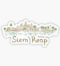 Siem Reap Panorama Sticker