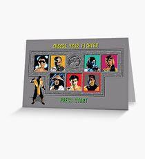 Mortal Kombat – Choose Scorpion Greeting Card