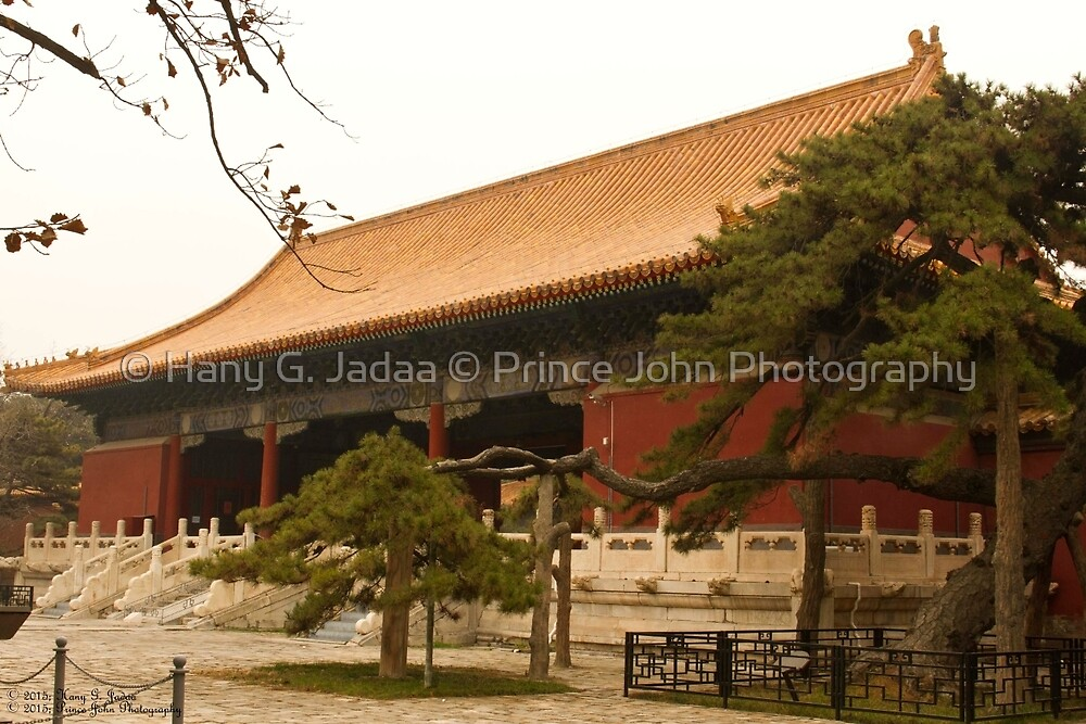 The Ming Tombs - A Side View Of The Main Entrance ©  by © Hany G. Jadaa © Prince John Photography