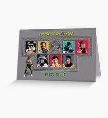 Mortal Kombat – Choose Sonya Blade Greeting Card