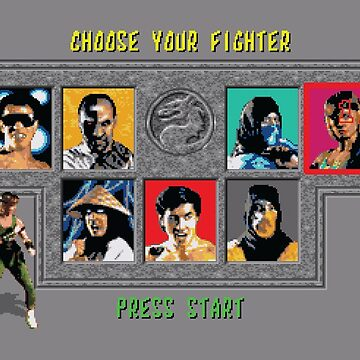Mortal Kombat – Choose Sonya Blade by PonchTheOwl