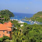 Marigot Bay, St. Lucia by Timothy Gass
