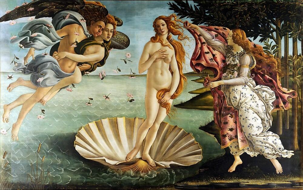 Iconic Sandro Botticelli The Birth of Venus by pdgraphics