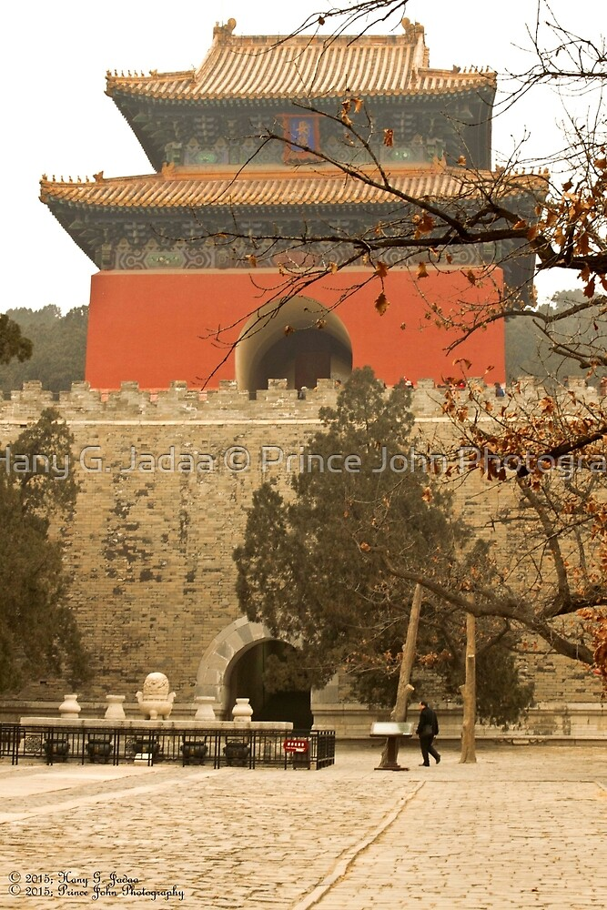 The Ming Tombs - Burial Chamber Of Yongle Emperor ©  by © Hany G. Jadaa © Prince John Photography