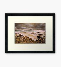 Madras Eye Framed Print